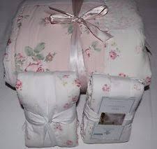 rachel ashwell ditsy patchwork quilted pillow sham full queen