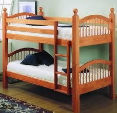 Convertible Bunk Beds Linon 5800nn22 A Kd Convertible Bunk Bed Maple Finish Bunk