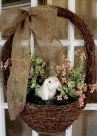 Diy Burlap Easter Decorations by 131 Best Easter Decor Images On Pinterest Easter Ideas Easter