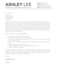 How To Make A Good Resume Cover Letter The Ashley Cover Letter Creative Resume Mac And Word