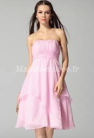 robe longue de soirã e pour mariage robe de soirée pour mariage mi longue en mousseline à bustier