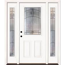Home Doors by Fiberglass Doors Front Doors The Home Depot