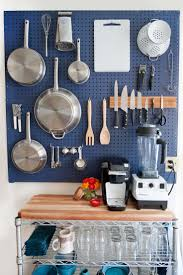 Kitchen Decorating Ideas For Small Spaces Best 25 Kitchen Pegboard Ideas On Pinterest Wall Mounted