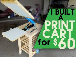 Make A Cheap End Table by Best 25 Screen Printing Press Ideas On Pinterest Screenprinting