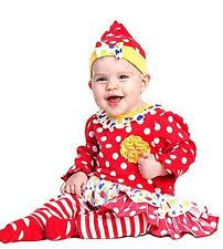 Infant Girls Halloween Costumes Baby Clown Costume Ebay