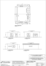 shed floor plan shed building plans streamline drafting and design