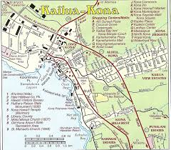 map of areas and surrounding areas maps of parts of the big island kailua kona kohala coast
