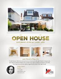 open house flyer templates memberpro co