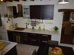 cuisine sur un pan de mur cuisine 3 photos maeline