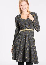tidy and polite dress all night long blutsgeschwister fashion