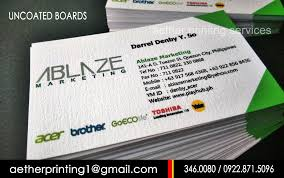 Calling Business Cards Affordable Waterproof Print Business Cards And Calling Car Manila
