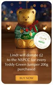 help lindt fundraise for the nspcc this christmas christmas