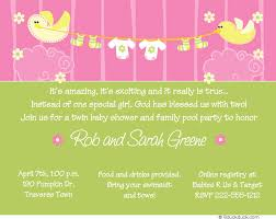 green and pink baby shower invitation invitation ideas