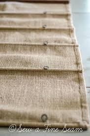 How To Install A Roman Shade - super simple instructions on how to sew a burlap roman shade