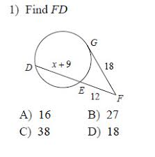 Segment Lengths In Circles Worksheet Answers Circles Segment Measures Worksheets Geometry