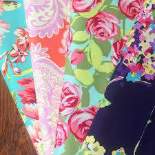 Amy Butler Home Decor Fabric by Amy Butler Love Tumble Roses In Pink Fabric Summer Floral Fabric