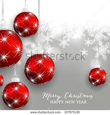 Christmas And New Year Christmas Decorations Snowflakes Vector by Merry Christmas Happy New Year Card Stock Vector 232499380