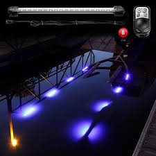 boat led strip lights xkglow boat trailer docking multi color led light kit with remote