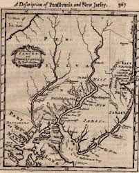 Pennsylvania On Map by Placing Pennsylvania On The Map The Seventeenth Century