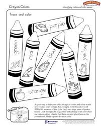 crayon colors u2013 coloring worksheets kindergarten u2013 jumpstart
