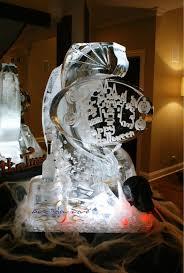halloween ice sculptures by art below zero