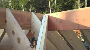 Irregular Hip Roof Framing Valley Rafter Youtube