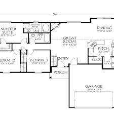 1 story open floor plans 1 story open floor home plans single story open floor plans with