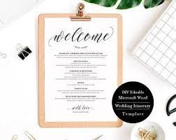 wedding itinerary template die besten 25 wedding itinerary template ideen auf