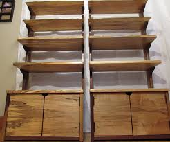 modern shelves with a rustic twist 12 steps with pictures