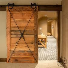 Recycled Interior Doors Rlp Reclaimed Sliding Track Barn Doors