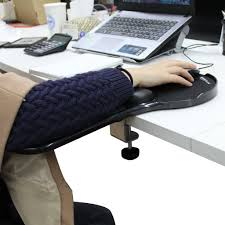 arm support mouse pad upgraded ergonomic desk chair armrest