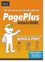 amazon com serif pageplus essentials download software