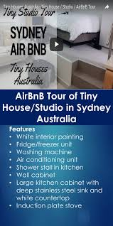 airbnb tour of tiny house studio in sydney australia tiny