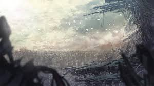 halloween post apocalyptic background anime full hd wallpapers search page 5