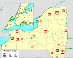 upstate ny map imprisoned in york