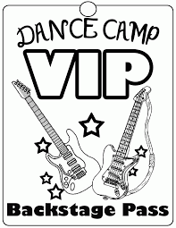 coloring dance coloring pages
