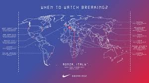 Cst Time Zone Map by Nike Announces Its Breaking2 Race Date And What You Need To Know