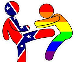Confederate Flag Clip Art Parade Beaten Up Clipart Clipground