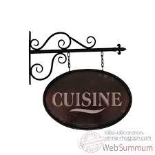 enseigne de cuisine enseigne cuisine antic line dans objet de décoration de meuble