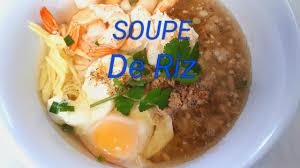 de cuisine thailandaise cuisine facile soupe de riz savoureuse recette pour se