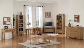 Rustic Livingroom Furniture by Rustic Oak Living Room Furniture With No Veneers Are Used Home