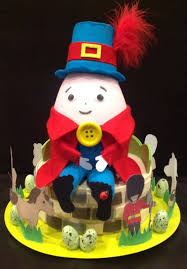 Easter Bonnet Cake Decorating by Handmade Easter Bonnet Hat Humpty Dumpty Easter Hat