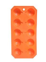 halloween soap molds amazon com orange pumpkin halloween plastic ice cube mold tray