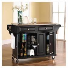 Wheeled Kitchen Island Agreeable Portable Kitchen Islands With Seating Style And Design