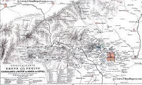 Beijing Map Beijing Historic Map Beijing Beiping And Region In 1875 Ad