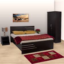 Bed Set Images Bharat Lifestyle Amsterdam Bedroom Set Without Storage Bed