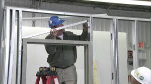 Diy Door Frame by How To Install A Steel Door Frame In Steel Stud Construction Youtube