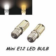 aliexpress com buy 5pcs 110v 3w 3014 smd led chips mini e12 led