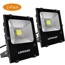 Brightest Outdoor Flood Light Lepower 2 Pack 50w New Craft Led Flood Light Bright Outdoor
