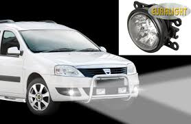 led daytime running lights and fog lights dacia logan mcv 2007 to